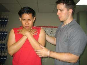 Mild obstruction - choking