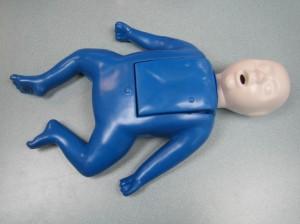 Infant training mannequin