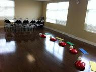A First Aid Training Classroom